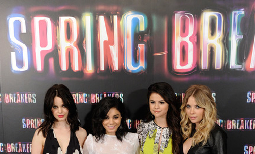 Vanessa Hudgens, Selena Gómez y Ashley Benson presentan en Madrid 'Spring Breakers'