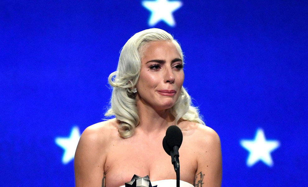 Lady Gaga vive unos Critics' Choice Awards 2019 agridulces