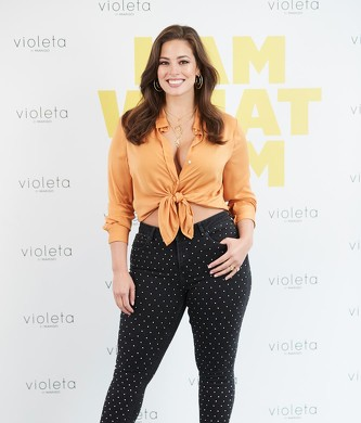 Ashley Graham presenta en Madrid la nueva campaña de Violeta by Mango