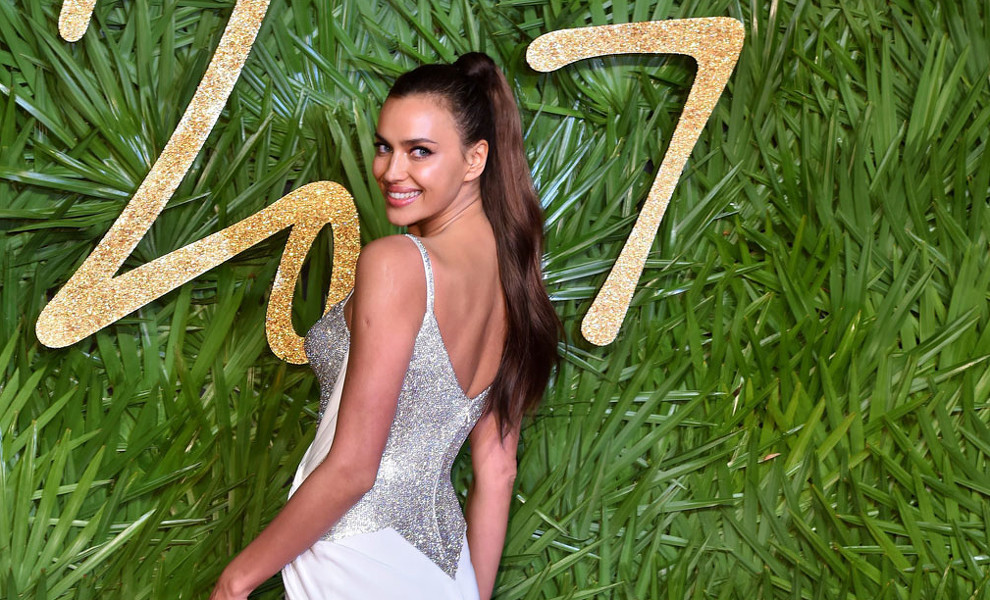 Irina Shayk deslumbra en los British Fashion Awards 2017