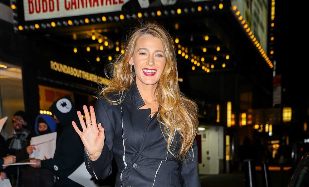 Blake Lively hace un homenaje a Mary Poppins con sus zapatos