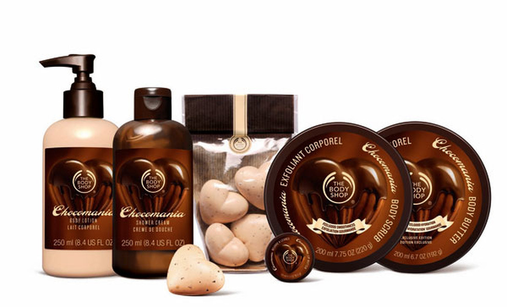Llega la chocomanía a The Body Shop
